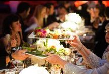 Family Style / Family Style food served at weddings planned by In Any Event
