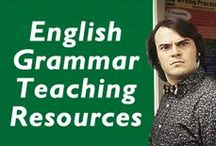 English Grammar Teaching Resources / On this board, you will find all our ESL/EFL teaching resources related to English grammar.