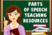 Parts of Speech - ESL EFL Teaching Resources / On this board, you will find all our ESL/EFL teaching resources relating to the parts of speech.