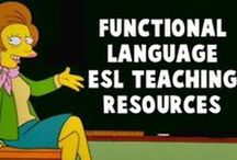 Functional Language Teaching Resources / On this board, you will find all our ESL teaching resources related to functional language.