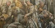 Russian civil war / includes: october revolution, Ukrainian war of independence, Ukrainian civil war, Finnish civil war, international intervention. Doesnt include Caucasus