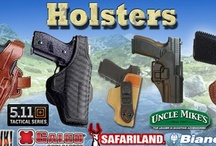Gun Holsters and Pouches / http://www.gunholstersunlimited.com/holsters-pouches.html