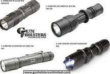 Flashlights / Batteries / http://www.gunholstersunlimited.com/flashlights-batteries.html