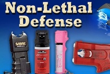 Non-Lethal Defense / Non-Lethal Self-Defense: You can find Pins about all sorts of non-lethal and self-defense weapons http://www.gunholstersunlimited.com/non-lethal-defense.html