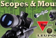 Scopes / Gun Scopes/ Rifle Scopes: Find best collection of Pins on rifle scopes with confidence from large brands http://www.gunholstersunlimited.com/scopes.html