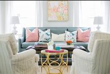 Lounge Room Styling / Ideas and inspiration for my lounge room at home / by Honey and Roses