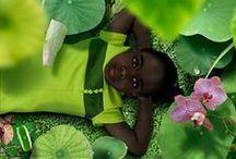 Ruud van Empel / Çocukları ve yeşili birleştiren fotoğrafçı