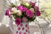 ✿✿Floral arrangements✿✿ / ✿Flower arrangements in a teacups, mason jars, bottles, floral centerpiece and so much more✿Every flower is a soul blossoming in nature-Gerard De Nerval / by ¸.•♥•.¸¸.•♥•Rachel•♥•.¸¸.•♥•.¸