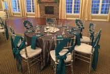 Teal weddings at Sand Springs