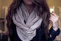 Scarfs / Inspiration for my favourite accessory...scarfs!