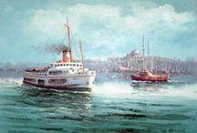 istanbul / yağlı boya tablolar