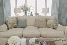 Beach House Style Ideas / Ideas for a relax and casual styling ... Coastal chic!