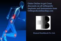 orthopedic plates / Orthopedic online shop offers beat quality orthopedic plates which are fixed on the bone to facilitate union of bone.