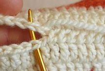 Crochet Tutorials / How to crochet tips