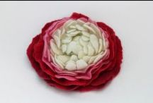 I fiori di lana cardata