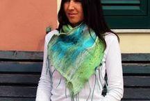 Scialle di lana merino / scialle di lana merino extra fine