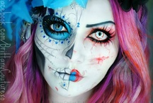Beauty~Theatrical Makeup / The art of makeup. / by Sonja McDaniel