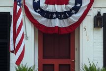 red, white & blue / Love anything Americana!
