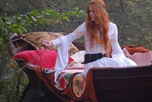 The Lady of Shalott / A picture board on the making of the Lady of Shalott film. The film was made for the bicentenary of Tennyson's birth in 2009 and we plan to release it free on the internet when our Face Book page reaches 1,500 - and we have less that 90 to go! https://www.facebook.com/#!/pages/The-Lady-of-Shalott-film/44481119645