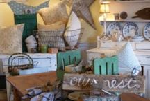 Shop/Display Ideas / Reinventing found goods and displaying them in unique ways is what I love the most about what I do!