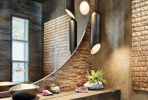 designing a masculine bathroom