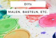 DIYs - Malen, Basteln & Nähen / Cheana | DIYs - Basteln, Lettering, Häckeln, Malen, Nähen, etc.
