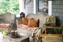 Bushel & a Pickle Porch & Outdoor Living / Summer or Winter…Outdoor living for all days