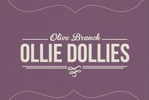 Olive Branch - OLLIE DOLLIES / Ollie knows that exploring is all about perspective. She investigates under rocks and climbs up trees to learn what the world is like for the bugs and the bees. Determined to wander, she can't wait for the next discovery.