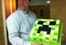 Minecraft / JZs 6th birthday - Minecraft Party ideas / by Sonya R