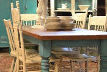 Farm tables / Farm table inspiration for my table maker at The Cottage in Leesburg, VA