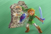 A Link Between Worlds / The Legend of Zelda: A Link Between Worlds, available November 22, 2013 in North America and Europe. This is a brand new Zelda game for Nintendo 3DS, 3DSXL and 2DS, set as a sequel in the same Hyrule world than A Link to the Past! The game is actually released this december in Japan as Kamigami no Triforce 2 (A Link to the Past 2). Finally, a special edition 3DSXL bundle will also be released.  | #ALBW