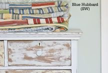 Paint Colors I Love / Colors to use on furniture & decor
