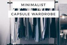 """Capsule Wardrobe / Capsule Wardrobe, auch Minimalist Wardrobe oder """"5 Pieces French Wardrobe"""" genannt - Tipps & Outfit Ideen für eine Garderobe bestehend aus Basics und einigen wenigen Akzenten & Accessoires."""