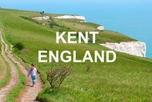 The Garden of England - Kent / Gardens, castles, walks and other things to do, places to see and food to taste in Kent, a county south of London in England