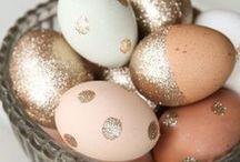 Golden Egg Brunch / A spring themed cocktail brunch party.