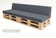 Pallesofa / Palle sofa, madresser til pallesofa pallemadrasser. design boligindretning
