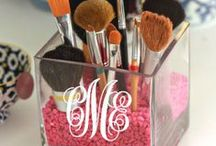 Let's monogram that! / Monograms that personalize it just for you!