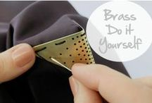 Brass - Do It Yourself / Le laiton est un alliage de cuivre doré : voici quelques idées déco DIY ! Brass is a golden copper alloy: here come some DIY decoration ideas! / by Copper Mania