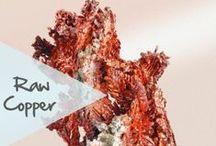 """Raw Copper / Call him """"red metal"""" / Ce n'est pas pour rien si l'on appelle le cuivre le """"métal rouge""""..."""
