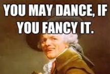 Dance Humor / A touch of giggles that should put a smile on your face!