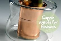 Copper objects for the home