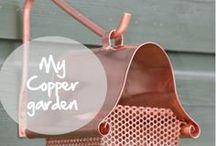 My copper garden