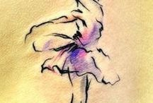 Dance Tattoos / Most professions love designs with that represent their industry.  Why would dance be different?  There are a ton of Dance tattoos that are awesome.