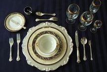 MESA-DECOR / Cервировка  посуды и декор  обеденного стола / by SVET&LANA