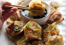 Dumplings & Vårrullar