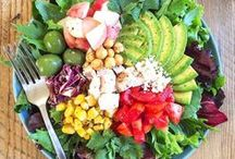 Scrumptious Salads / Super Healthy Salad Recipes to try!