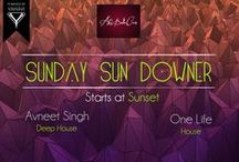 Sunday Sun Downer / AVE is the stage name of Avneet Singh, a music producer, DJ and songwriter based out of New Delhi. Having been producing music since the last 3 years, AVE's music has come to represent an amalgam of melodic house music with deep underground vibes. As a performer AVE is all about giving his audience an experience to remember.