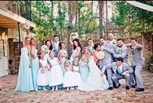 Our Bridal Parties / #neworleanswedding #mandeville #fleurdeliswedding