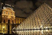 famous building / modern, historic famous buildings, places, squares