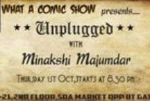 Unplugged with Minakshi Majumdar / A soothing evening with an unplugged event near #IIT #DELHI! Come by if you're up for some commercial music! #Goodvibes guaranteed!